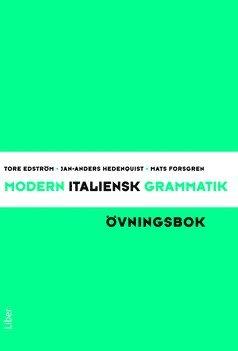 bokomslag Modern italiensk grammatik Övningsbok med Facit