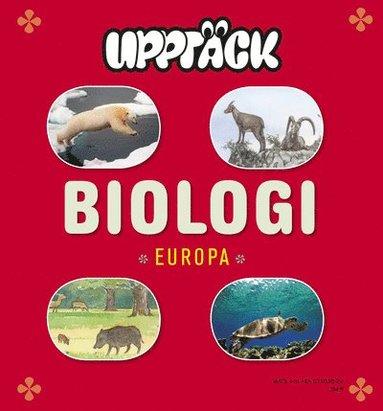 bokomslag Upptäck Europa Biologi Grundbok