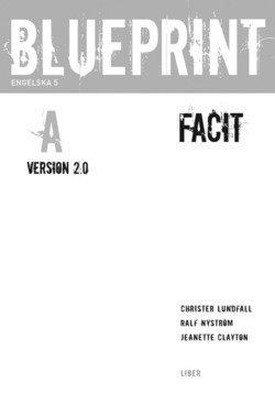 bokomslag Blueprint A Version 2.0 Facit