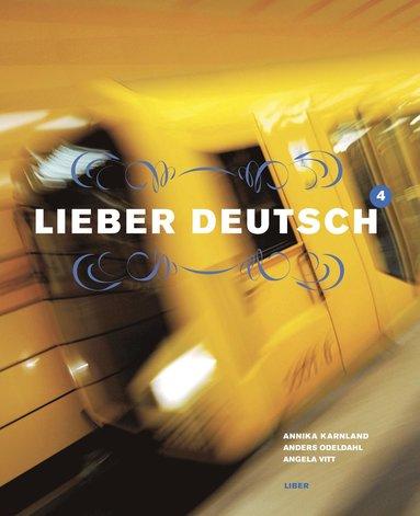 bokomslag Lieber Deutsch 4 Kursbok