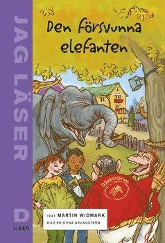 bokomslag Jag läser D Den försvunna elefanten