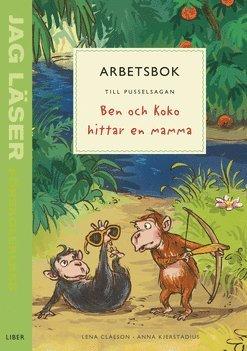 bokomslag Jag läser - förskoleklass - arbetsbok till pusselsagan Ben och Koko hittar en mamma