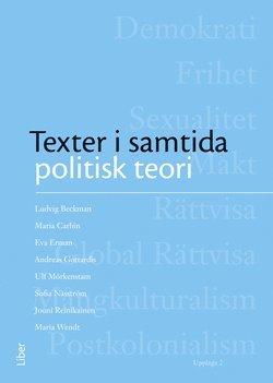 bokomslag Texter i samtida politisk teori