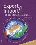 bokomslag Export och import Fakta och Övningar