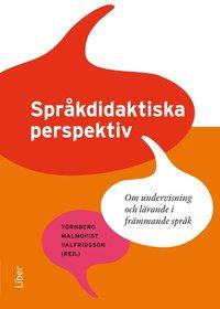 bokomslag Språkdidaktiska perspektiv - Om lärande och undervisning i främmande språk