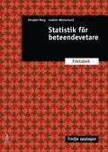 bokomslag Statistik för beteendevetare : faktabok