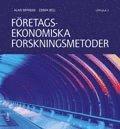 bokomslag Företagsekonomiska forskningsmetoder