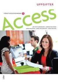 bokomslag Access Företagsekonomi 1, Uppgiftsbok med cd