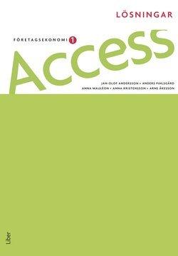 bokomslag Access 1, Lösningar