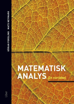 bokomslag Matematisk analys En variabel