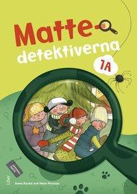 bokomslag Mattedetektiverna 1A Grundbok