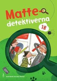 bokomslag Mattedetektiverna 1B Grundbok
