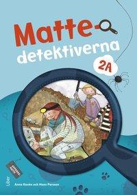 bokomslag Mattedetektiverna 2A Grundbok