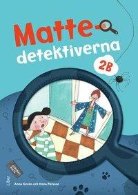 bokomslag Mattedetektiverna 2B Grundbok