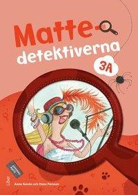 bokomslag Mattedetektiverna 3A Grundbok