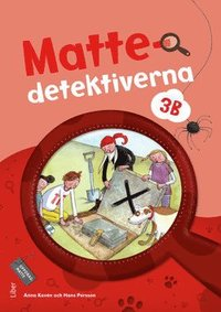 bokomslag Mattedetektiverna 3B Grundbok