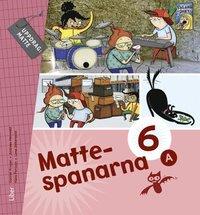 bokomslag Mattespanarna 6A Grundbok