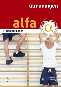bokomslag Matematikboken Alfa Utmaningen