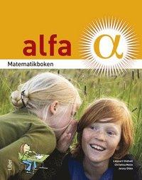 bokomslag Matematikboken Alfa Grundbok