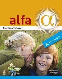bokomslag Matematikboken Alfa A