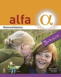 bokomslag Matematikboken Alfa B