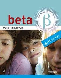 bokomslag Matematikboken Beta A