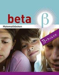 bokomslag Matematikboken Beta B