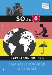 bokomslag Tummen upp! Geografi/Samhällskunskap åk 6 Kartläggning