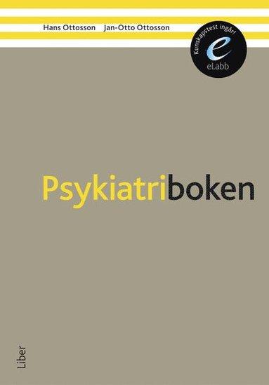 bokomslag Psykiatriboken bok med eLabb