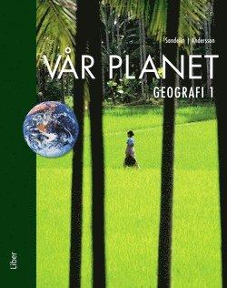 bokomslag Vår planet 1 - Geografi 1