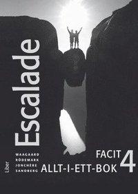 bokomslag Escalade 4 Facit