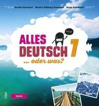 bokomslag Alles Deutsch 7 Textbok - Tyska för grundskolan