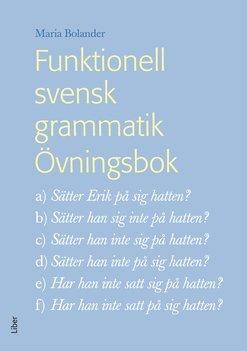 bokomslag Funktionell svensk grammatik Övningsbok