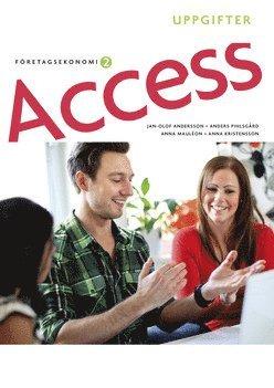 bokomslag Access Företagsekonomi 2, Uppgiftsbok med cd