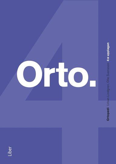 bokomslag Ortopedi