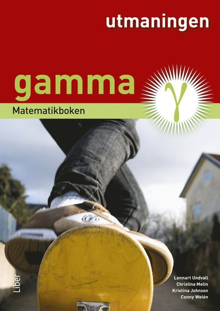 bokomslag Matematikboken Gamma Utmaningen