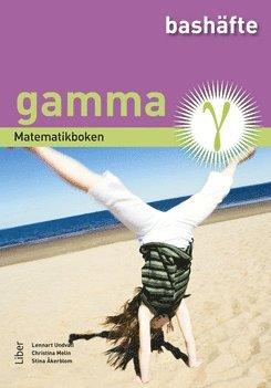 bokomslag Matematikboken Gamma Bashäfte