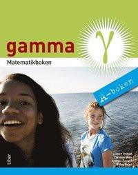 bokomslag Matematikboken Gamma A-boken