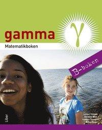 bokomslag Matematikboken Gamma B-boken