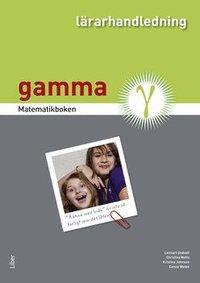 bokomslag Matematikboken Gamma Lärarhandledning