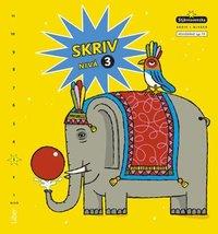 bokomslag Stjärnsvenska Skriv i nivåer 03