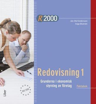bokomslag R2000 Redovisning 1 Faktabok