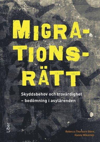 bokomslag Migrationsrätt : skyddsbehov och trovärdighet - bedömning i asylärenden