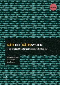 bokomslag Rätt och rättssystem : en introduktion för professionsutbildningar