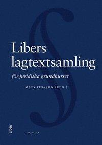 bokomslag Libers lagtextsamling för juridiska grundkurser