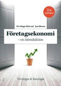 bokomslag Företagsekonomi - en introduktion : övningar och lösningar