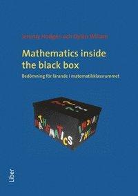 bokomslag Mathematics inside the black box bedömning för lärande i matematikklassrummet