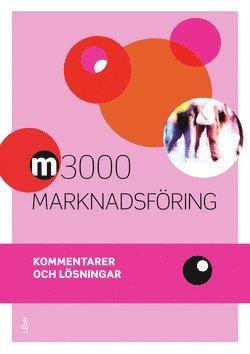 bokomslag M3000 Marknadsföring Kommentarer och lösningar