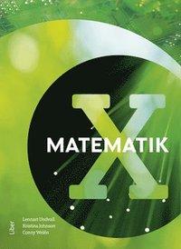 bokomslag Matematik X