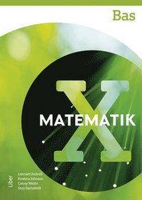 bokomslag Matematik X Bas
